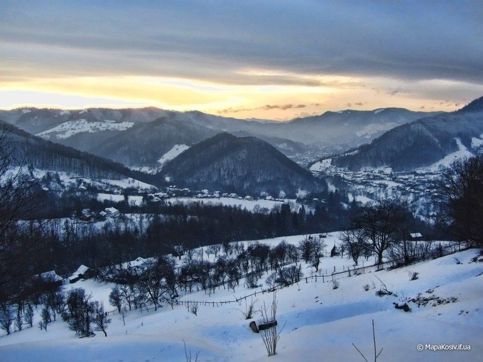 Хребет Хоминський: відео-панорама