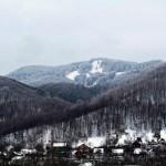 Гора Михалкова взимку