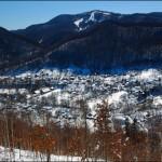 Вид з Сопки на гору Михалкову