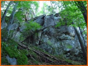 «Стіна паломників». Вигляд справа