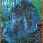 Камінь із загадковою номограмою. Що вона означає?