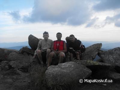 Гора-красуня — Карпатська Сивуля