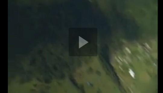 Чорногора з висоти пташиного польоту (відео)