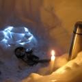 У сніговій печері